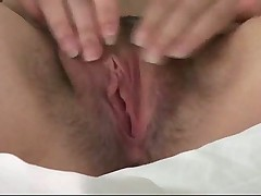 Small tits beauty fucked in her hairy pussy