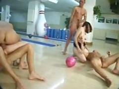 German Orgy in Bowling