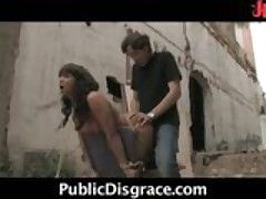 Hot Outdoor Fucking & Spanking