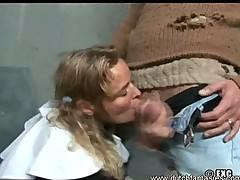 Nun gave a homeless a hard blow