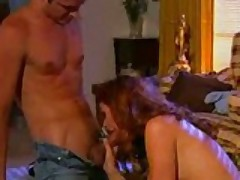 Redhead Chick Gets Nailed