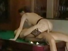 Slut Gets More Than An Eight Ball In Her Pocket