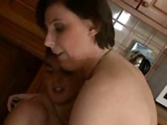 European MILF Fucked By Her Son's Friend