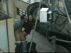 Outdoor Sex On The Terrace