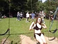 Fun at a Nudist
