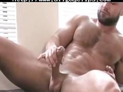 Francois Sagat Solo gay porn gays gay cumshots swallow stud hunk