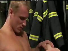 Three Fireman gay porn gays gay cumshots swallow stud hunk