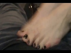 Shoe Job Foot Job Tease