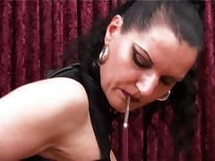 Russian Ass Worship With Smoking