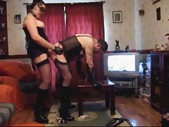 More Femdom and Strapon Fun
