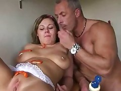 Hot German Pussy Fucking in Kitchen by snahbrandy
