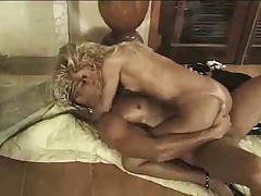 Latina tranny rides erect prick on a floor