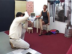 Mature Pantyhose Fucks Photographer