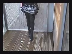 Smoking slut of the neighborhood
