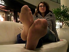 Dirty Pantyhose Feet