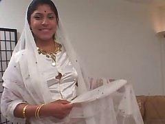 Indian Woman sucks and fucks two dicks anally