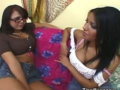 Eva Angelina Teaches Girl to Pleasure Her Man
