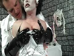 The Bride Of Frankenstein Get's Some