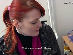 Maggie Anal Examination