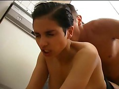 Celine Bara Assfucked In Kitchen