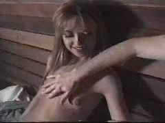 Teen orgy in sauna
