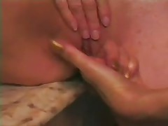 Older Housewife Shaving and Playing with Friends by snahbrandy