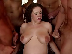 German pregnant Gangbang 9 month