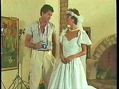 Sharon Mitchell - wedding dress