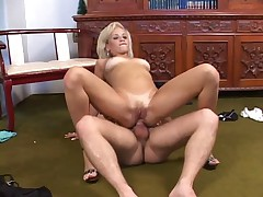 Blonde Brazillian Anal HOTTTT!