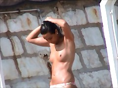 Incredible beach czech in france girls topless