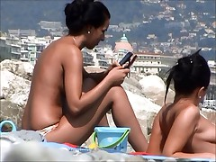 Incredible beach czech in france girls topless
