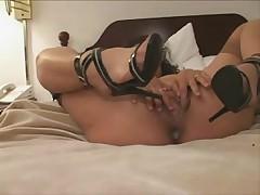 Swinger wife slut creampied by black man - snake