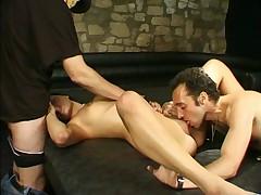 Bonnasse francaise en threesome