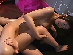 Japanese girls kissing scene 2(censored)