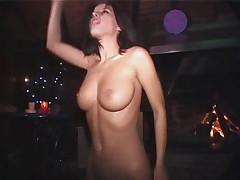 Veronika B - Nude in Public Rave Party by snahbrandy
