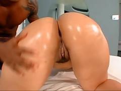 Big Booty Brazilian chick gets fucked