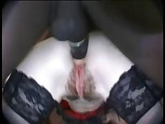 French hairy slut gets banged