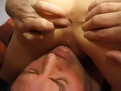 Prostate bj and fuck