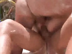 Caribic Threesome on the Beach