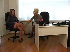 Lesbian at the office 1 of 4 D10