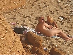 Sex on nude beach